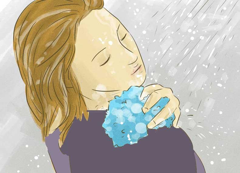کاهش بوی بد زیر بغل
