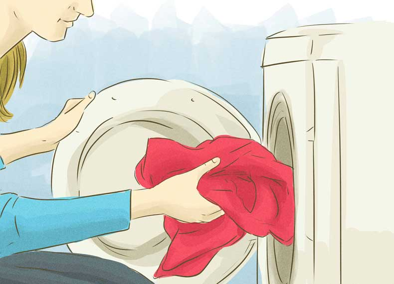 از بین بردن لک عرق زیر بغل