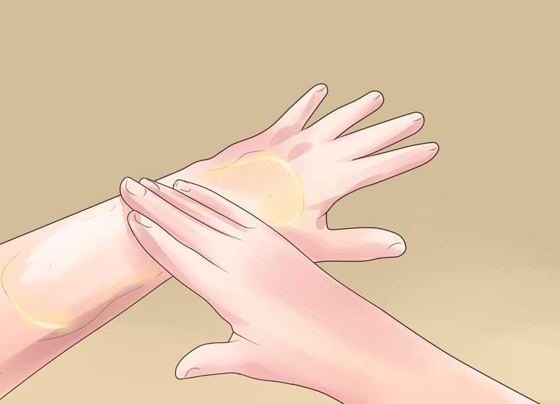 درمان نازکی پوست دست در طب سنتی