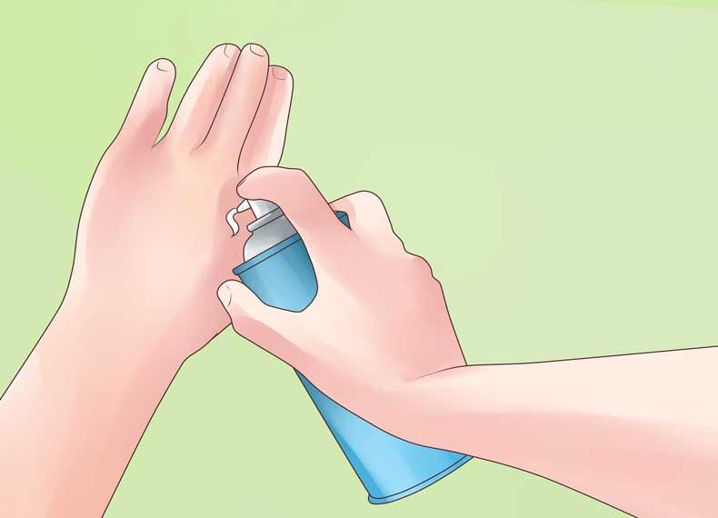 درمان فوریه نازکی پوست