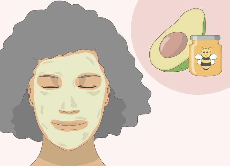 درمان گیاهی شل شدن پوست صورت