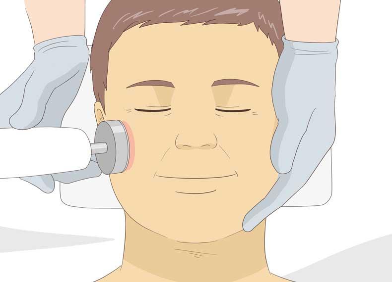 درمان قطعی افتادگی پوست صورت