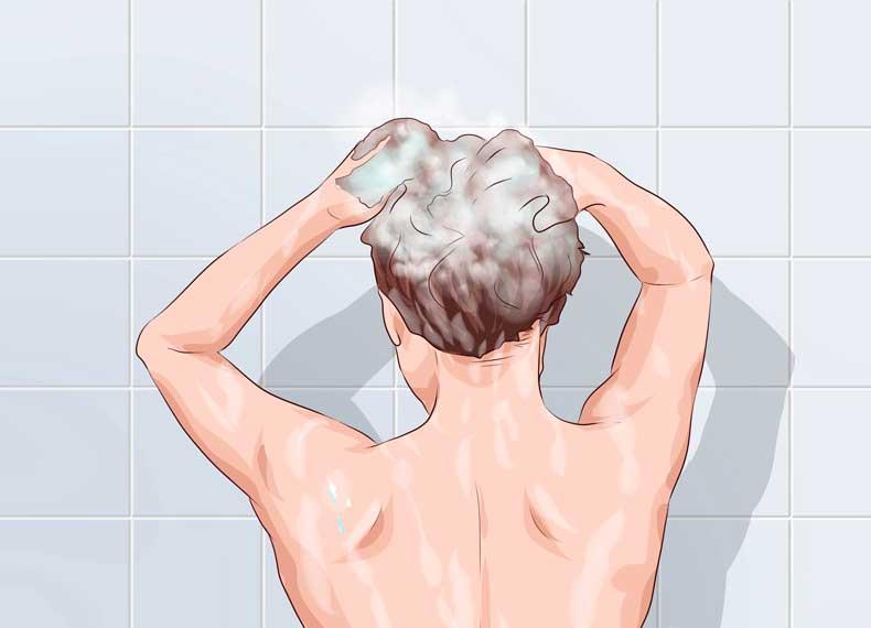 شستشوی مناسب مو
