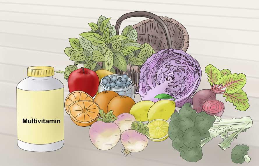 موادغذایی مفید برای لک ناخن