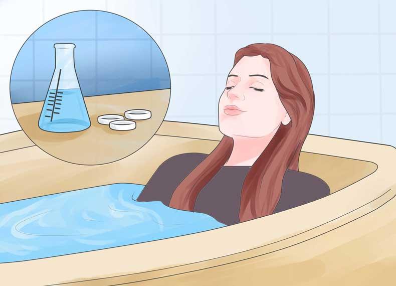 درمان فولیکولیت در خانه