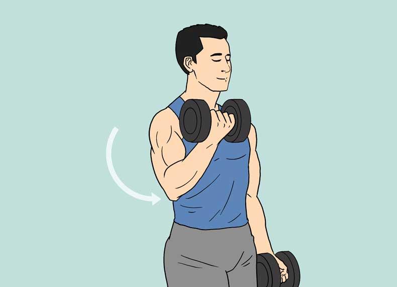 تمرین صحیح بدنسازی