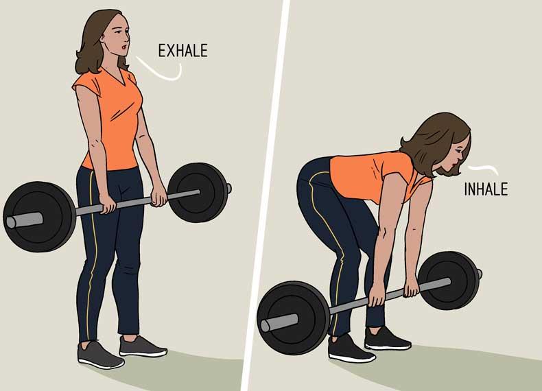 بلند کردن وزنه
