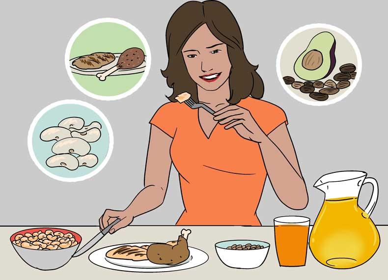 غذای مناسب برای ورزش