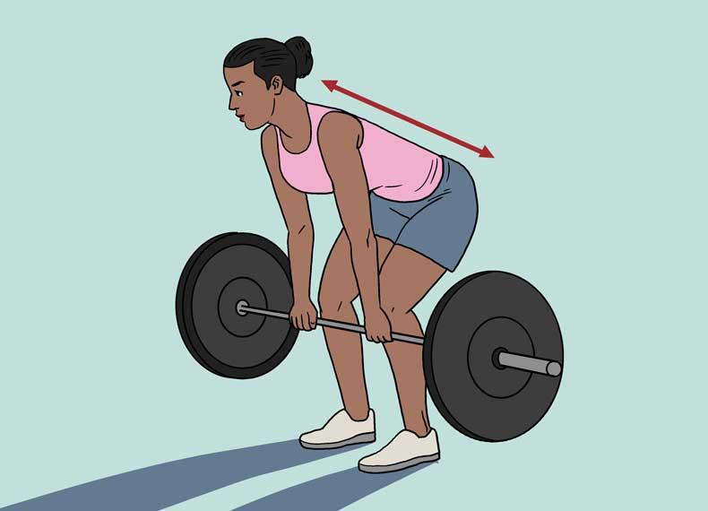 روش صحیح وزنه زدن