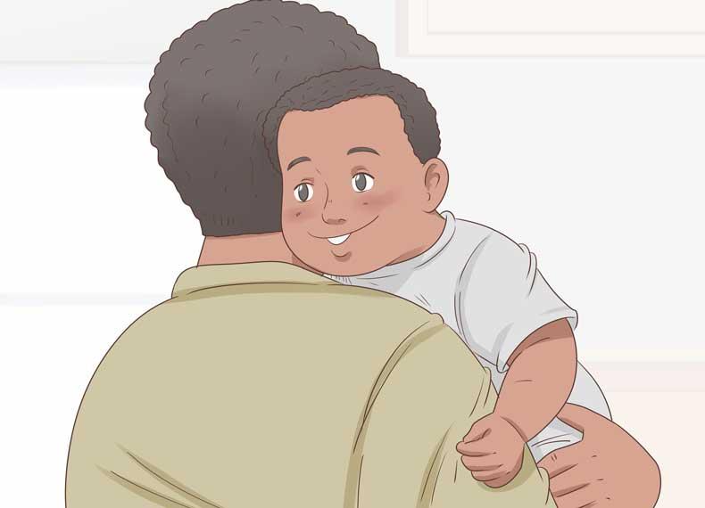 بغل کردن کودک