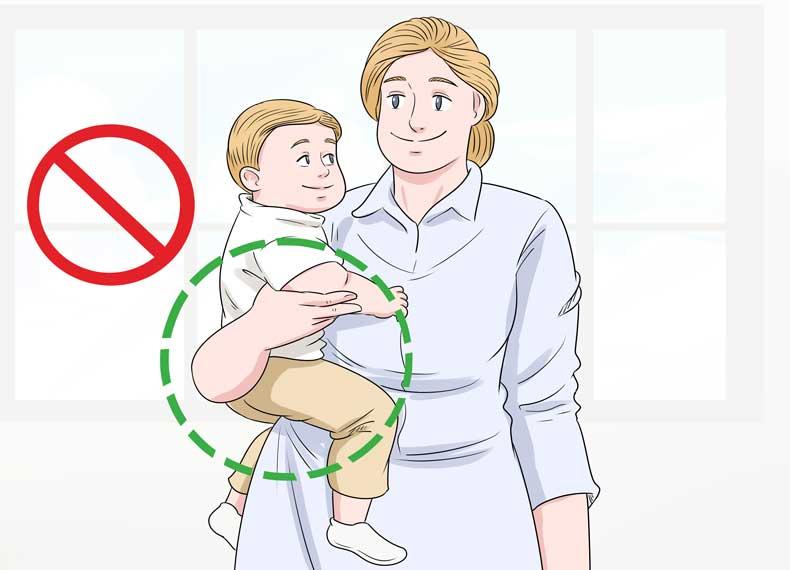 غبط گرفت بچه