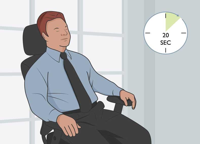 کاهش سریع استرس