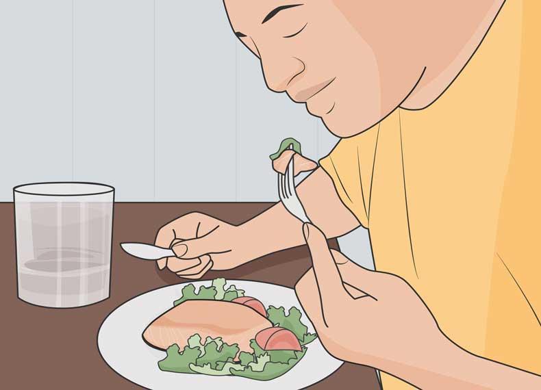 غذای مناسب برای کاهش استرس