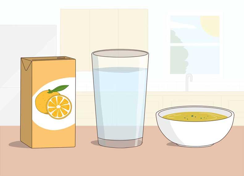 موادغذایی مناسب برای مسمومیت غذایی