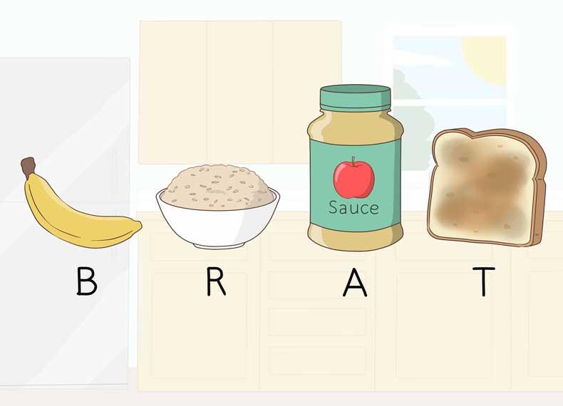 رژیم غذایی مناسب برای مسمومیت غذایی