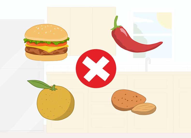 علت مسمومیت غذایی