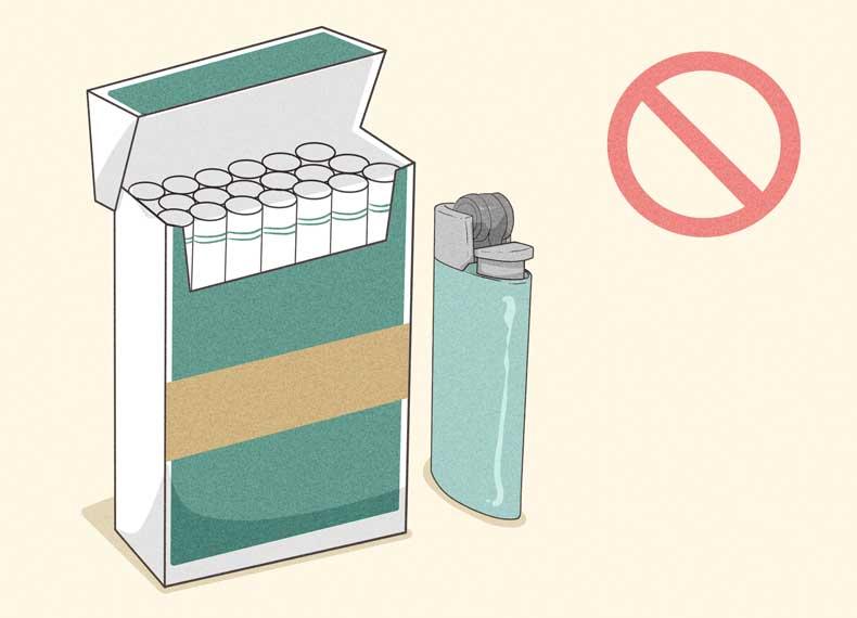 سیگار و حساسیت