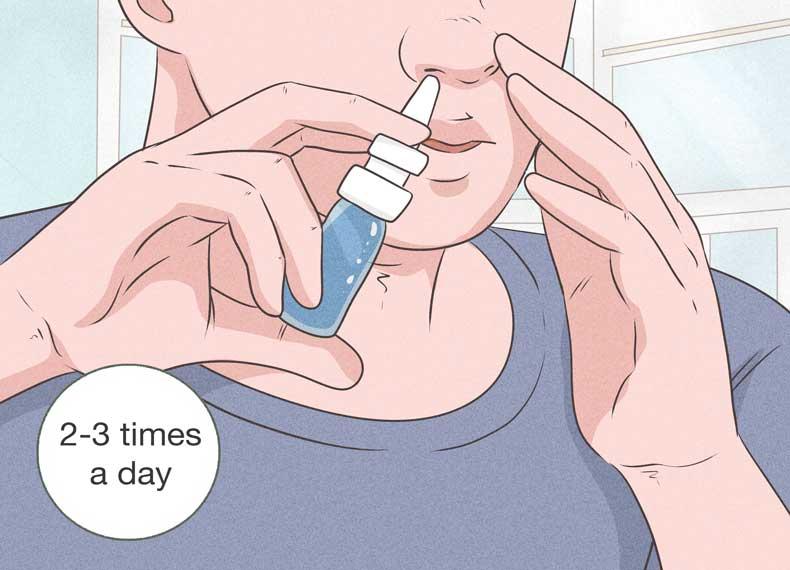 اسپری بینی ضدحساسیت
