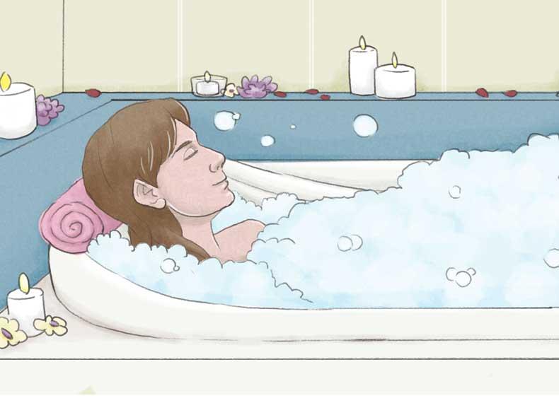 حموم آب گرم برای خود ایمنی