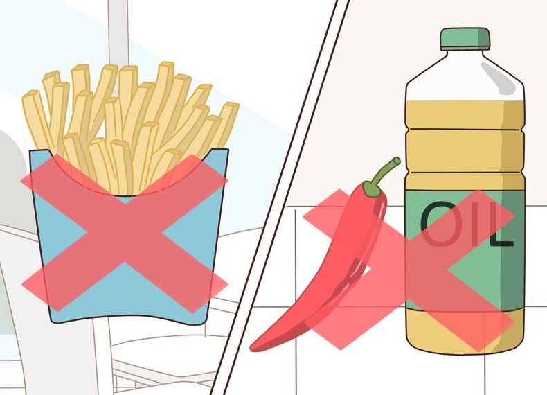 موادغذایی ناسالم برای بدن