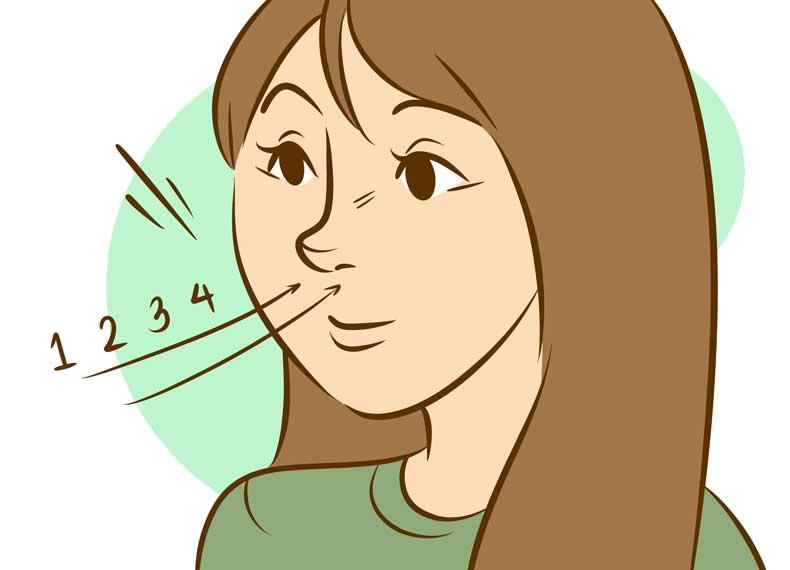 روش ساده انجام تنفس عمیق