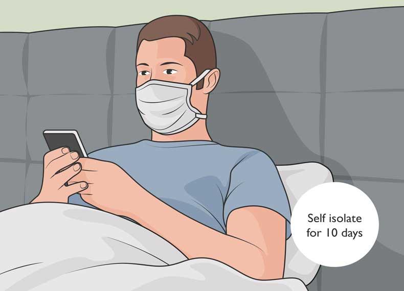 درمان خانگی سارس
