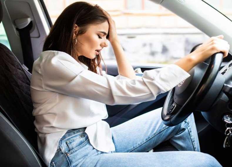 کتاب استرس در رانندگی